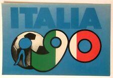 Cartolina Autoadesiva Mondiali Di Calcio Italia 90