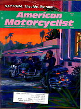 Amcerican Motorcyclist magazine March 1992 Daytona