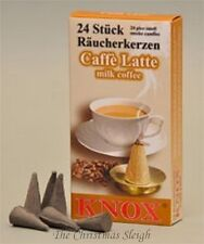 KNOX German Incense for Smoker Rauchermann Raucherkerzen Milk Coffee 2 BOXES