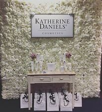Artificial Flower Wall Panels Wedding - Peony Roses in Ivory White - UK Supplier
