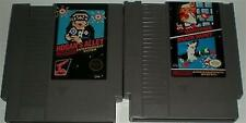 NES NINTENDO ENTERTAINMENT SYSTEM GAME BUNDLE DUCK HUNT HOGAN'S ALLEY MARIO