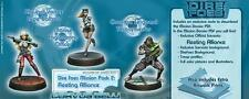 Infinity BNIB Dire Foes Mission Pack 2 Fleeting Alliance (Nomads VS ALEPH) 28003
