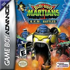 Butt Ugly Martians B.K.M. Battles  Nintendo Game Boy advance gameboy gba