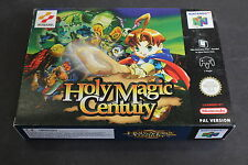 [F13] HOLY MAGIC CENTURY - NINTENDO 64 PAL VERSION FONDO DI MAGAZZINO NEW BOXED