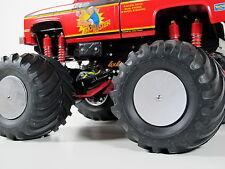 Tamiya RC 1/10 Clodbuster Bullhead 4pcs Aluminum Wheel Hub Rim Disc Cap Cover