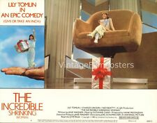 THE INCREDIBLE SHRINKING WOMAN, orig 1981 Lobby Card, LILY TOMLIN sci-fi effects