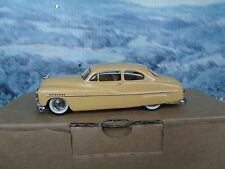 1/43 Zaugg Empire models (Switzerland)  Ford Mercury Handbuilt White Metal Model