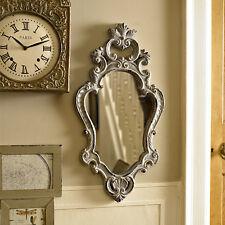 Grau rokoko stil wand spiegel schick schlafzimmer badezimmer geschenk zuhause