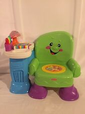Fisher Price Laugh & Learn Song and Story Learning Chair EDUCATIONAL MUSIC ABC'S