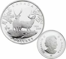 2009 80th Anniversary of Canada in Japan $5 Silver Coin