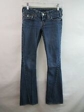 True Religion Joey Women's Jeans Stretch Flare Boot Low-Rise Size 24
