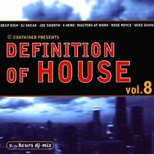 Definition of House 8 (1999, mixed by DJ Mario Cullmann) Nick Holder, 4.. [2 CD]