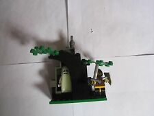 Lego Vintage Set 1596 Wolfpack Ghostly Hideout Loose 2 Minifigures