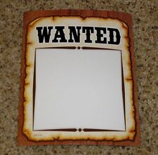 Teacher Resource: 10 Wanted Poster Bulletin Board Accents