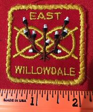 "2"" Square East Willowdale Patch Toronto Ontario Canada BIN:K"