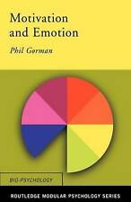 Motivation and Emotion (Routledge Modular Psychology): Textbook (Routledge Modul