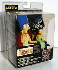 Simpsons the Movie Marge with sound McFarlane Toys action figure