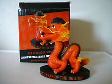 SF GIANTS 2012 YEAR OF THE DRAGON BOBBLEHEAD NEW SGA CHINESE HERITAGE FIGURINE
