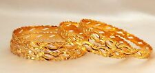 Indian Tradition Royal Bangles Set Indian Ethnic Gold Plated Set of 4 size 2.8