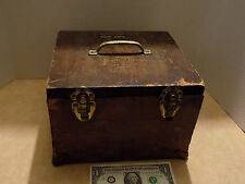 Antique Cash Register Systems Wood Services and Supplies Box