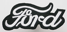 FORD MOTOR CARS Classic Car Marque Logo - Iron-On Patch - PICK 'N' MIX - #1C13
