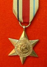 World War II Africa Star WW 2 Military Medals