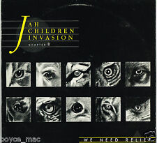 wackies LP : VARIOUS-jah children invasion chapter 2   (hear)    reggae