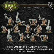 Warmachine Hordes BNIB Trollblood Kriel Warriors (13) 71079