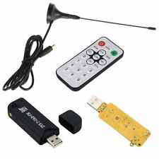 RTL2832U+R820T USB DVB-T MPEG4/H.264 HDTV Tuner Stick FM+DAB w/ MCX  Antenna J59