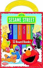 Sesame Street My First Library Set - 12 Board Hardcover Books