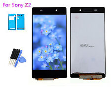 LCD Screen & Touch Digitizer Assembly Glass For Sony Z2 D6502 D6503 Adhesive Ts