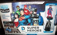 DC COMICS Super Hero Plug & Play THE WATCHTOWER Starter Pack New In Sealed Pkg.