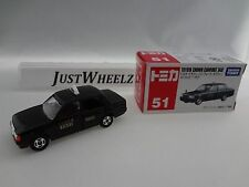 Takara Tomy Tomica #51 Black Toyota Crown Comfort Taxi 1/63 Scale MIB Read