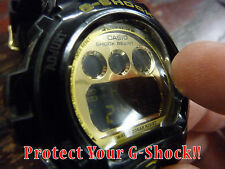 CASIO G-SHOCK (semi-circle Style) Zagg Crystal protector scratch protection Set2