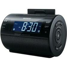Sony ICFC11IP Lightning iPhone/iPod Clock Radio Speaker Dock (Black)