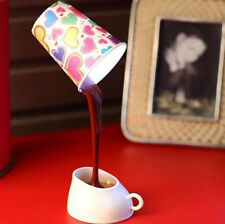 Table Lamp Home Romantic Pour Coffee Usb Battery Night Light Novelty DIY LED