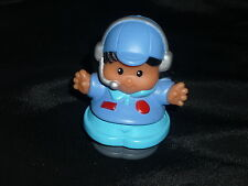Fisher Price Little People Airplane Plane Girl PILOT
