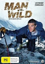 Man Vs Wild - Extreme Terrains :Season 1 :Collection 1 (DVD, 2010,2-Disc Set) R4