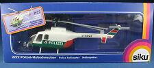 SIKU 2222 - BO 105 - Polizei-Hubschrauber 1. Vers - NEU in OVP - 1:55 Helicopter