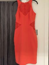 Orange Karen Millen Dress Size 10