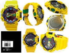 Casio G-Shock GA400-9A Yellow Big Bold Multi-layered Design Watch