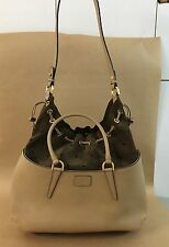 "FENDI  ""B"" FAB LEATHER DRAWSTRING BAG ""NEW"""