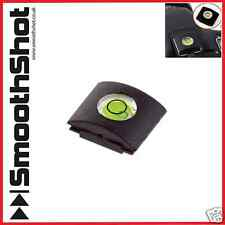 CAMERA FLASH HOT SHOE BUBBLE SPIRIT LEVEL FOR SLR DSLR CANON NIKON OLYMPUS