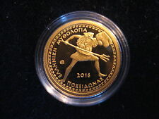 "MDS GRIECHENLAND 100 EURO 2016 PP / PROOF ""POSEIDON"", GOLD"