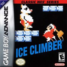 Ice Climber Classic NES Series - Game Boy Advance GBA Game