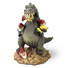 The Great Garden Gnome Massacre Dinosaur T-REX Novelty Gift Garden Ornament New