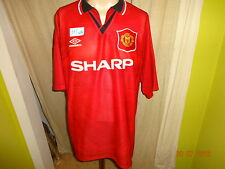 "Manchester United Original Umbro Meister Trikot 1994-1996 ""SHARP"" Gr.XXL TOP"