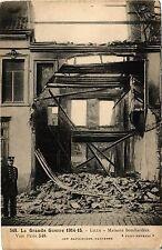 CPA  La Grande Guerre 1914-15 - Lille - Maisons bombardées     (204058)
