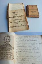 Handschrift um 1900 über BURENKIEG: Unveröffentlichter Roman / 257 S. / UNIKAT!