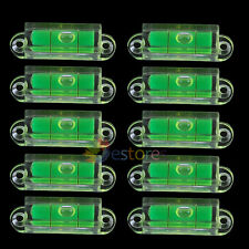 10x Mini Compact Pocket Tapping Hole Bubble Spirit Level Fr Measuring Tool Usage